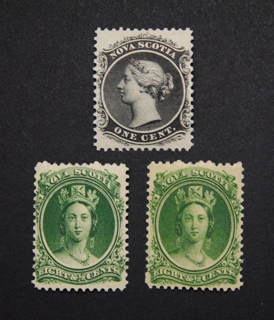Canada Nova Scotia S/C #8 and S/C #11 Mint