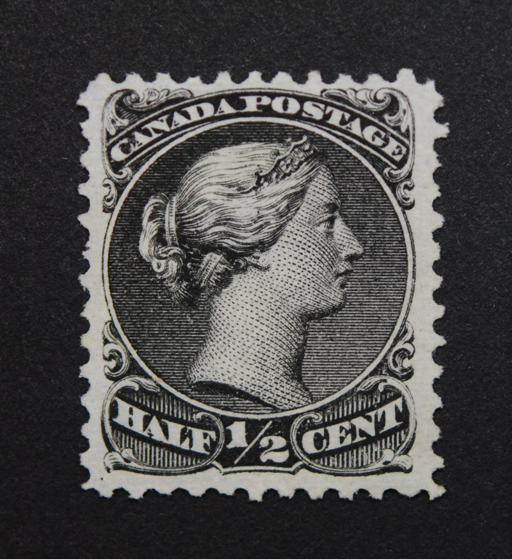 Canada 1/2c Large Queen M VF NG