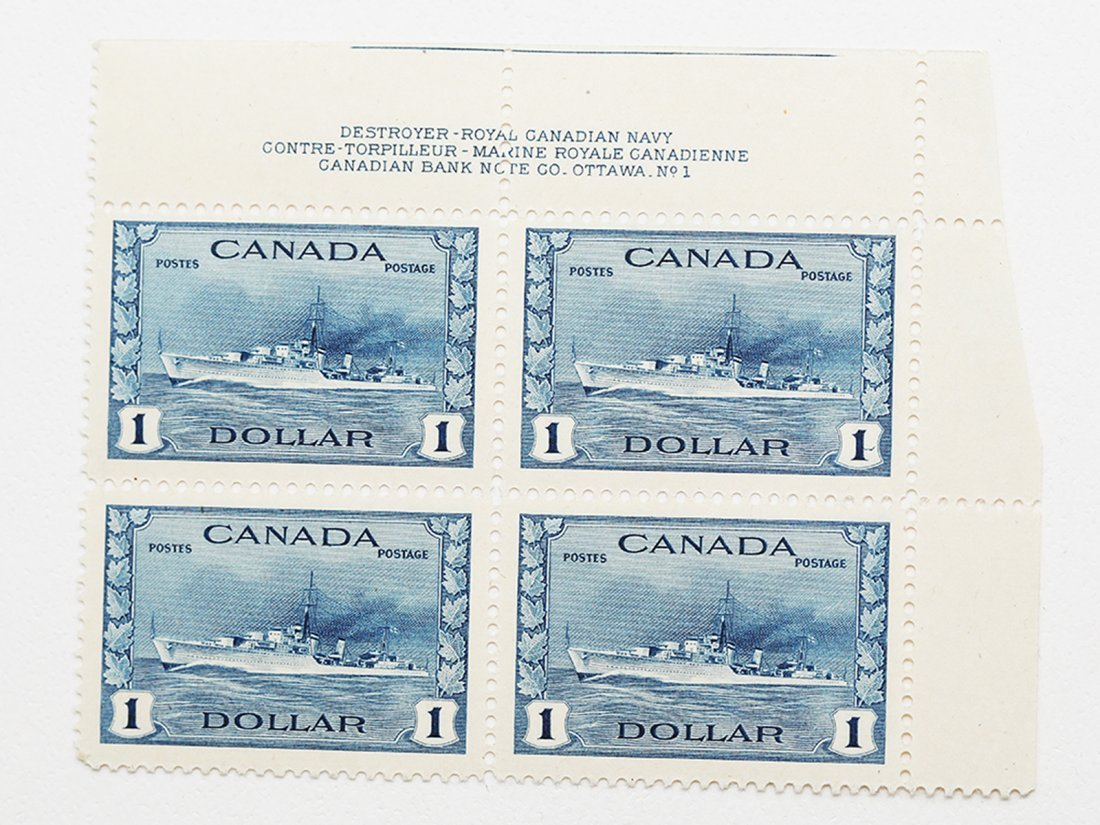 Canada $1 S/C #262 MNH VF