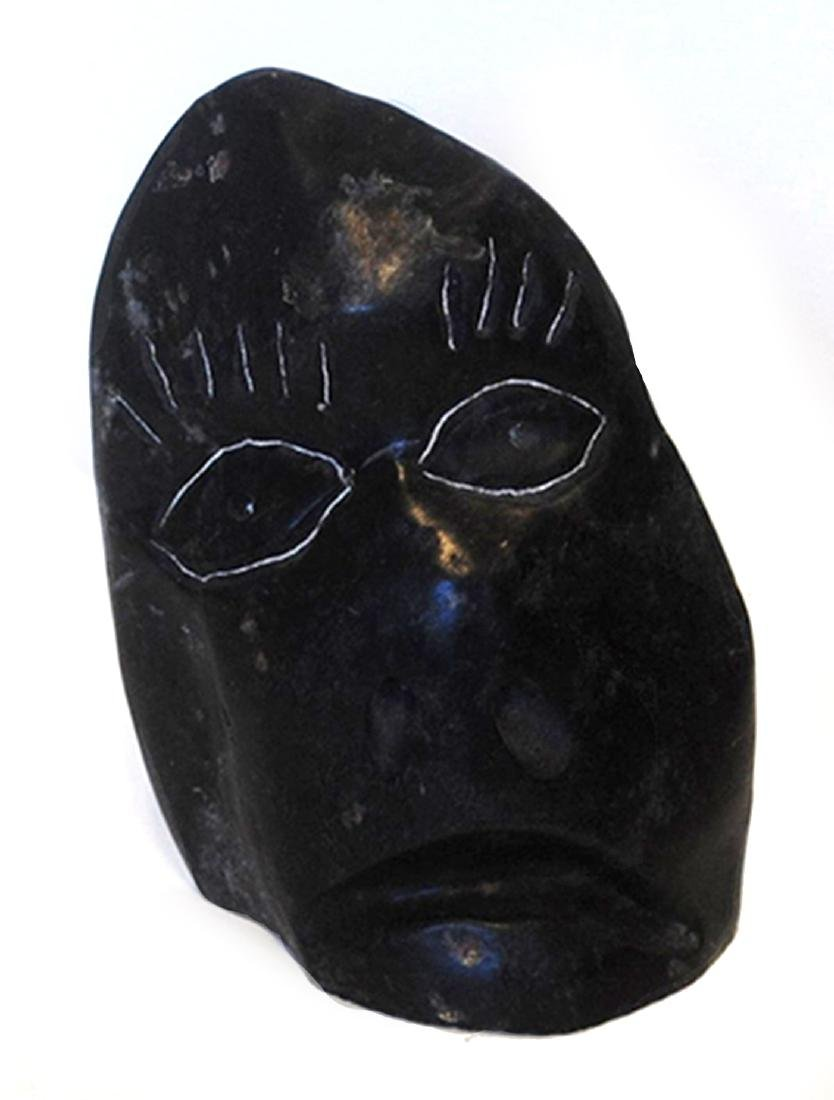 "Albert Qayutinnuaq's ""Face"" Sculpture"