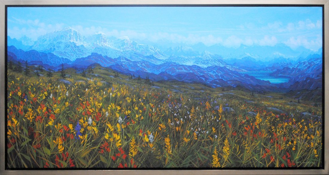 """Randolph Parker's """"Mood of The Mountains"""" Original"""