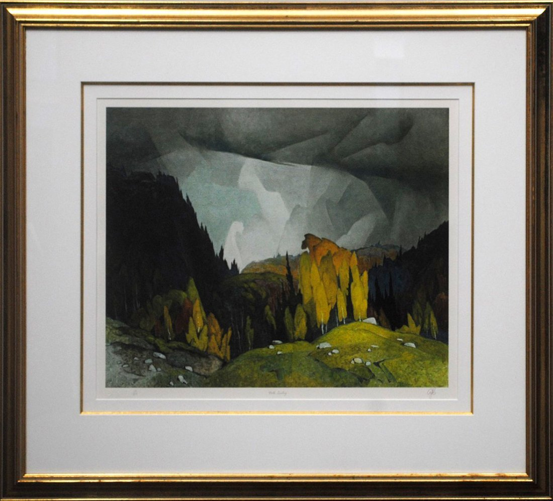 """AJ Casson's """"North Country"""" Limited Edition Print"""