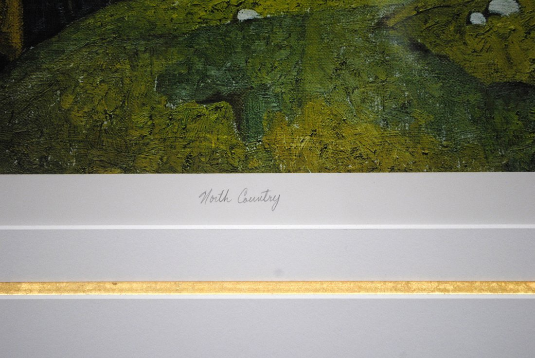 """AJ Casson's """"North Country"""" Limited Edition Print - 2"""