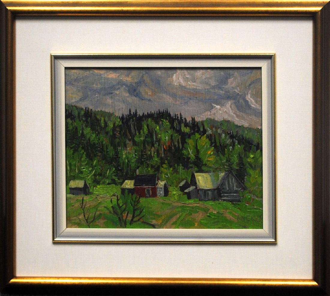 "Lawrence Nickle's ""Raymond Rochete's Place"" Original"