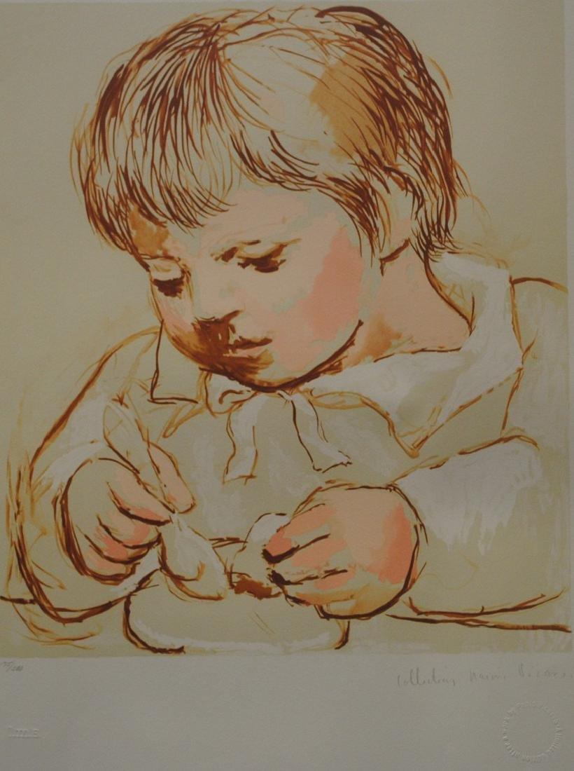 """Pablo Picasso's """"Enfant Dejeunant"""" Limited Edition"""