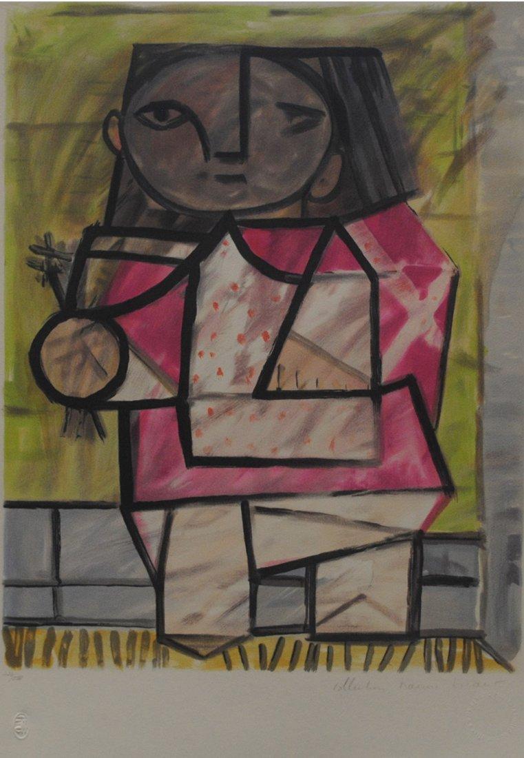 """Pablo Picasso's """"Enfant et Pied"""" Limited Edition"""