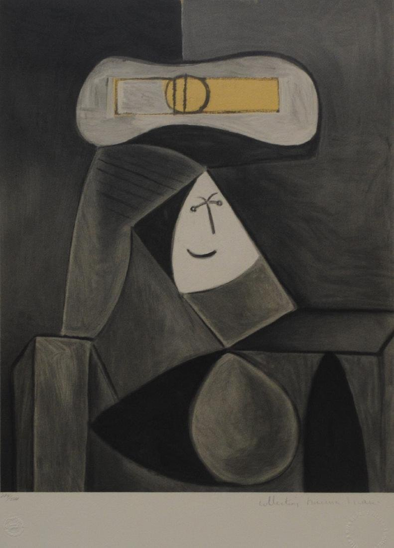 """Pablo Picasso's """"Femme Au Chapeau Gris"""" Limited Edition"""