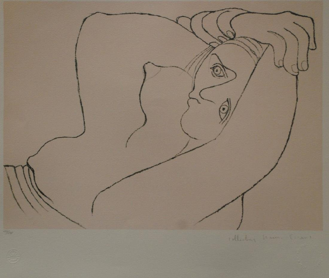 """Pablo Picasso's """"Femme Couchee"""" Limited Edition"""