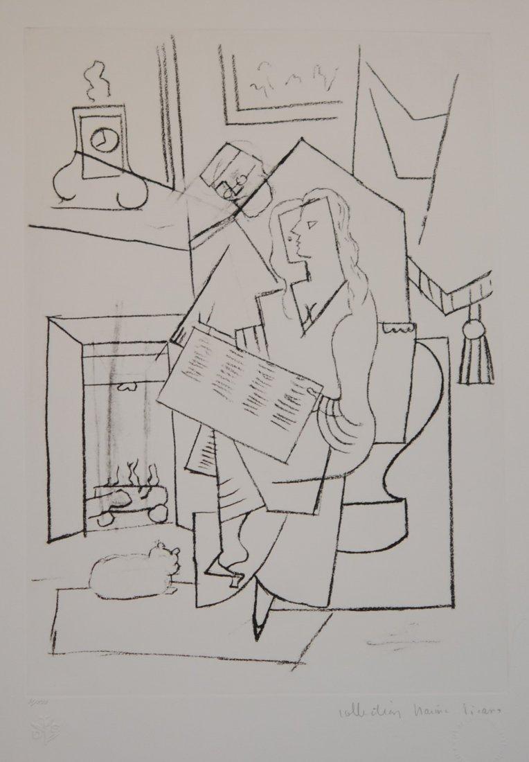 """Pablo Picasso's """"Femme Dans Un Fauteuil """" Limited"""