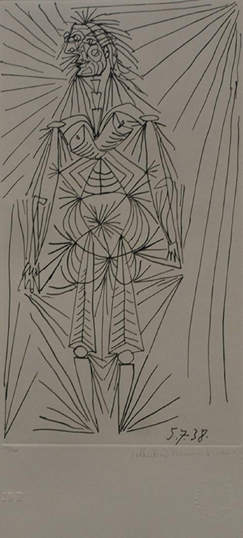 "Pablo Picasso's ""Femme Debout"" Limited Edition"