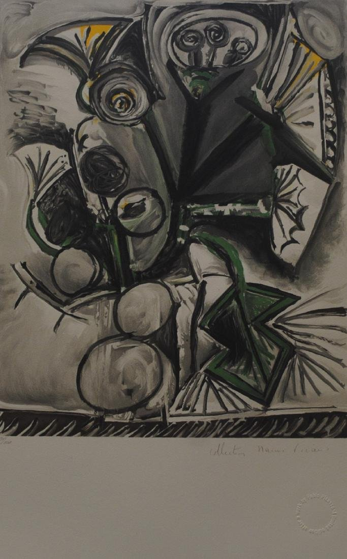 "Pablo Picasso's ""Le Bouquet"" Limited Edition Lithograph"
