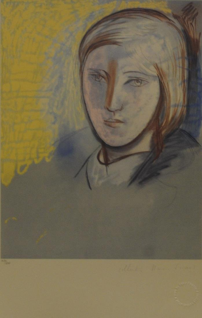 "Pablo Picasso's ""Portrait of Marie-Therese"" Limited"