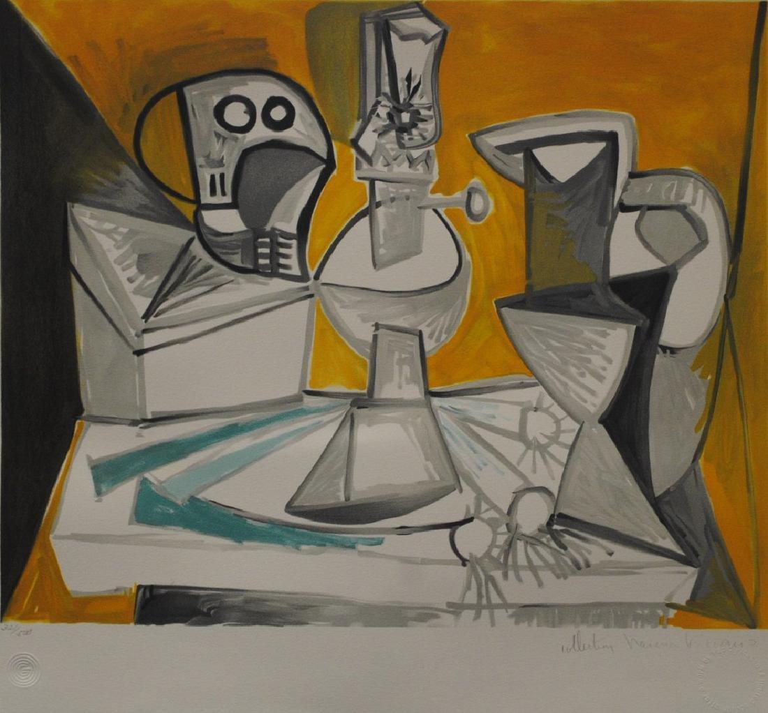 """Pablo Picasso's """"Tete De Mort, Lampe, Cruches et"""