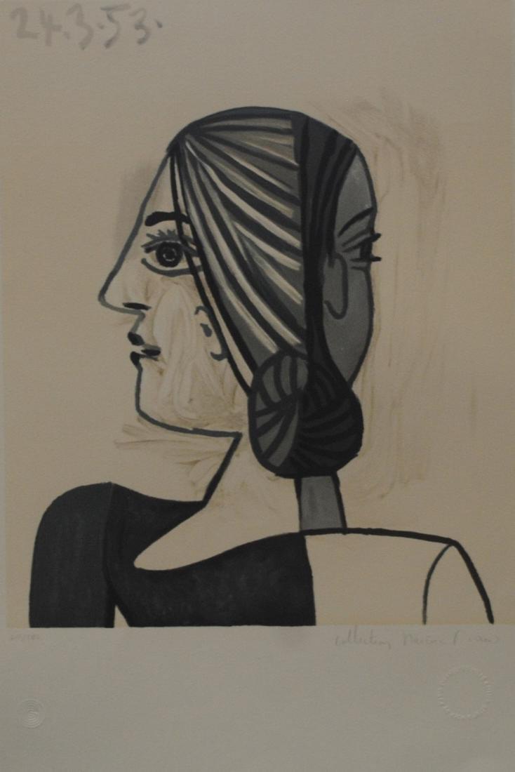 "Pablo Picasso's ""Tete"" Limited Edition Lithograph"