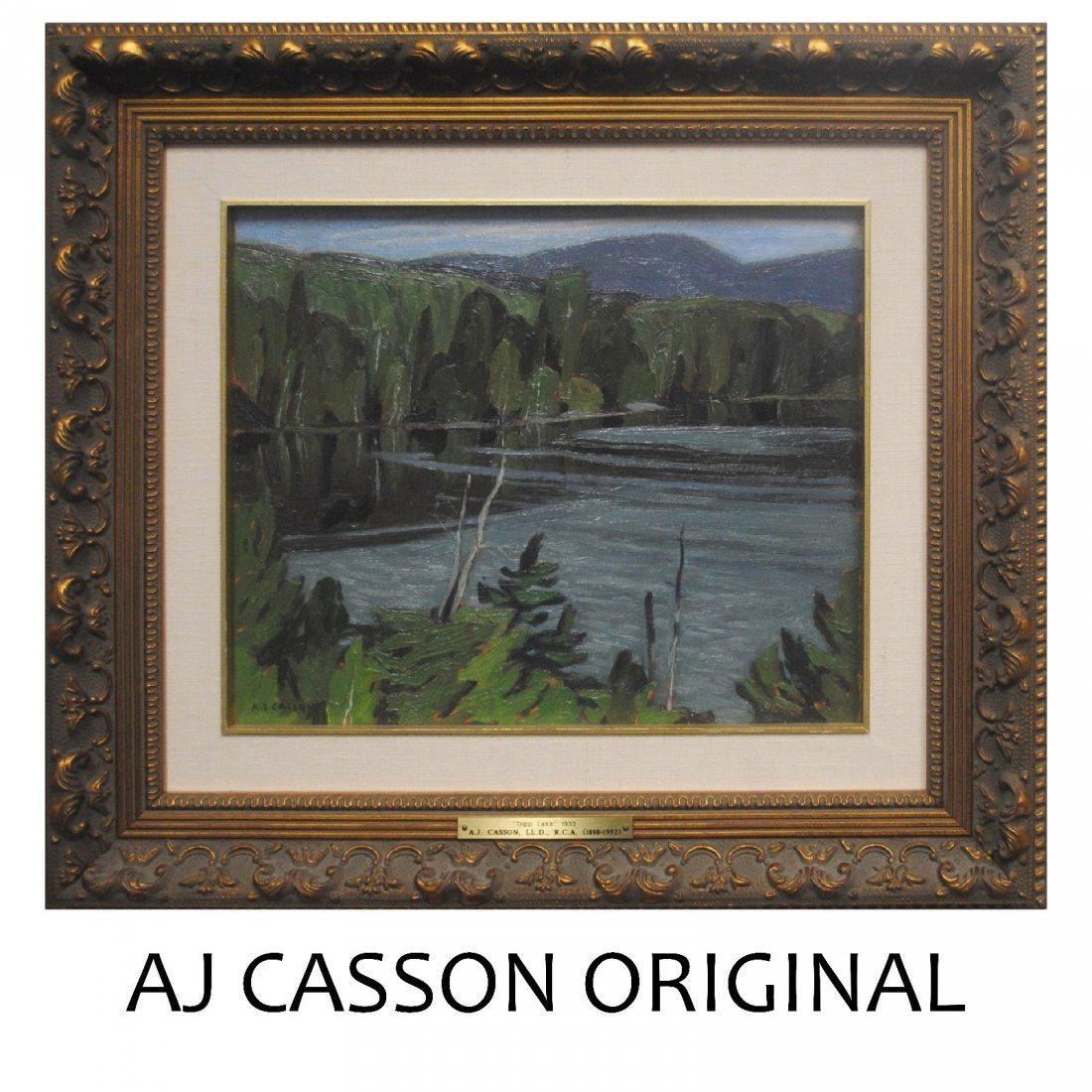 "AJ Casson's ""Tripp Lake"" Original"