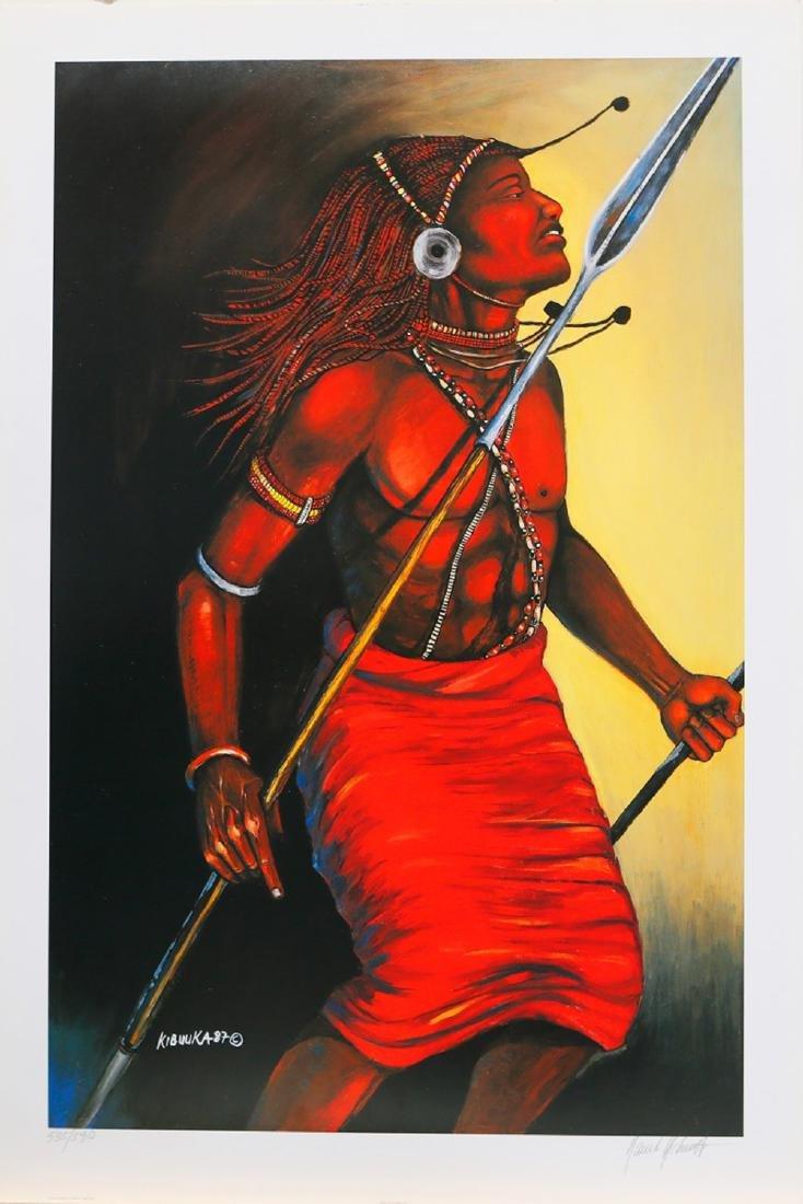 "David Kibuuka's ""Ritual Dance II"" Limited Edition Print"