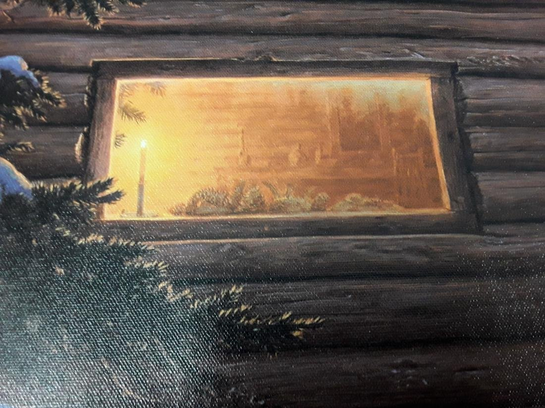 """Stephen Lyman's """"Wilderness Welcome"""" Limited Edition - 2"""