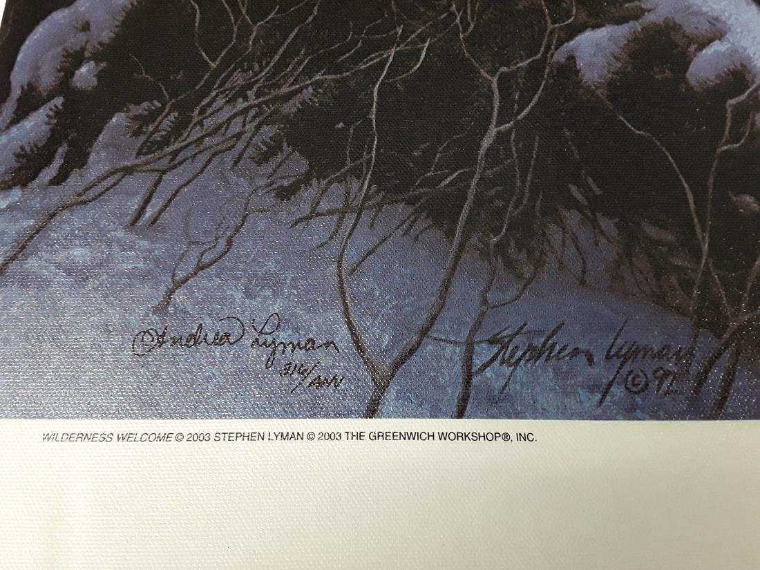 """Stephen Lyman's """"Wilderness Welcome"""" Limited Edition - 3"""