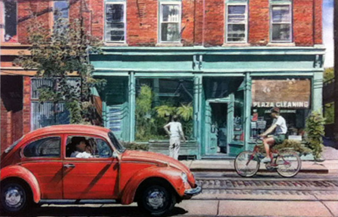 "Les Tait's ""King St. E"" Limited Edition Print"