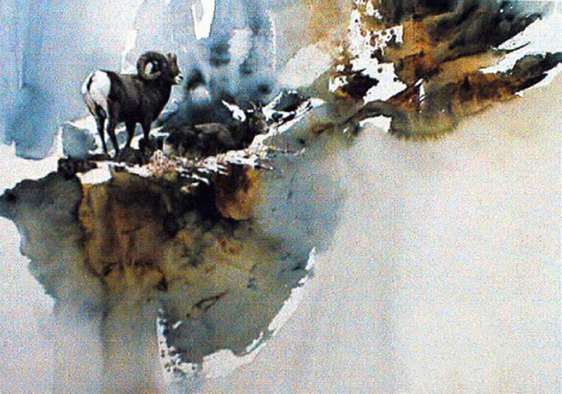 """Morten E. Solberg's """"Something Moved - Bobcat"""" Limited"""