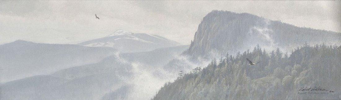 "Robert Bateman's ""Thinking Like a Mountain"" Limited Edi"