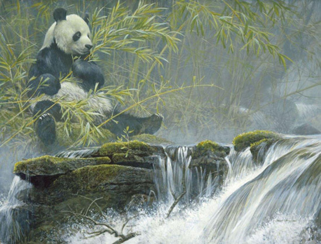 "Robert Bateman's ""Giant Panda"" Limited Edition Print"