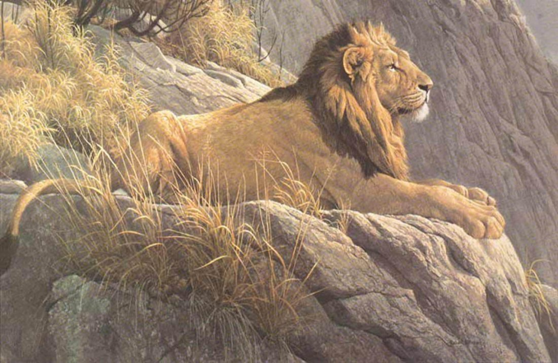 """Robert Bateman's """"King of the Realm"""" Limited Edition Pr"""