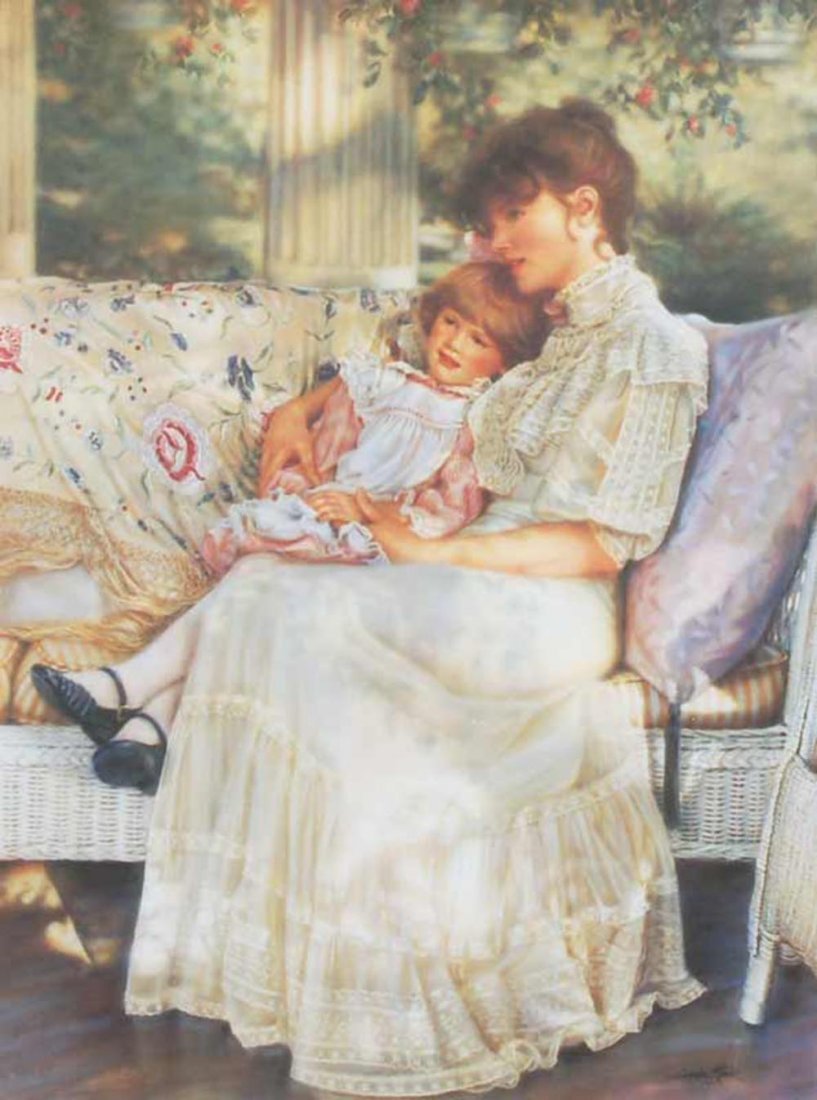 """Sandra Kuck's """"Day Dreaming"""" Limited Edition Print"""