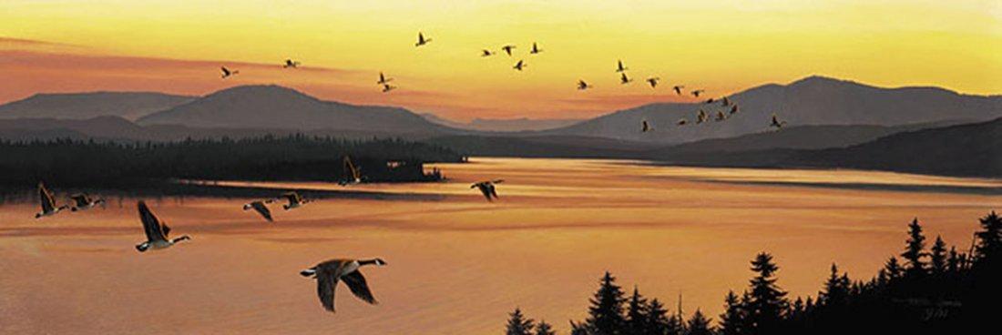 "Stephen Lyman's ""Sounds of Sunset"" Limited Edition Prin"