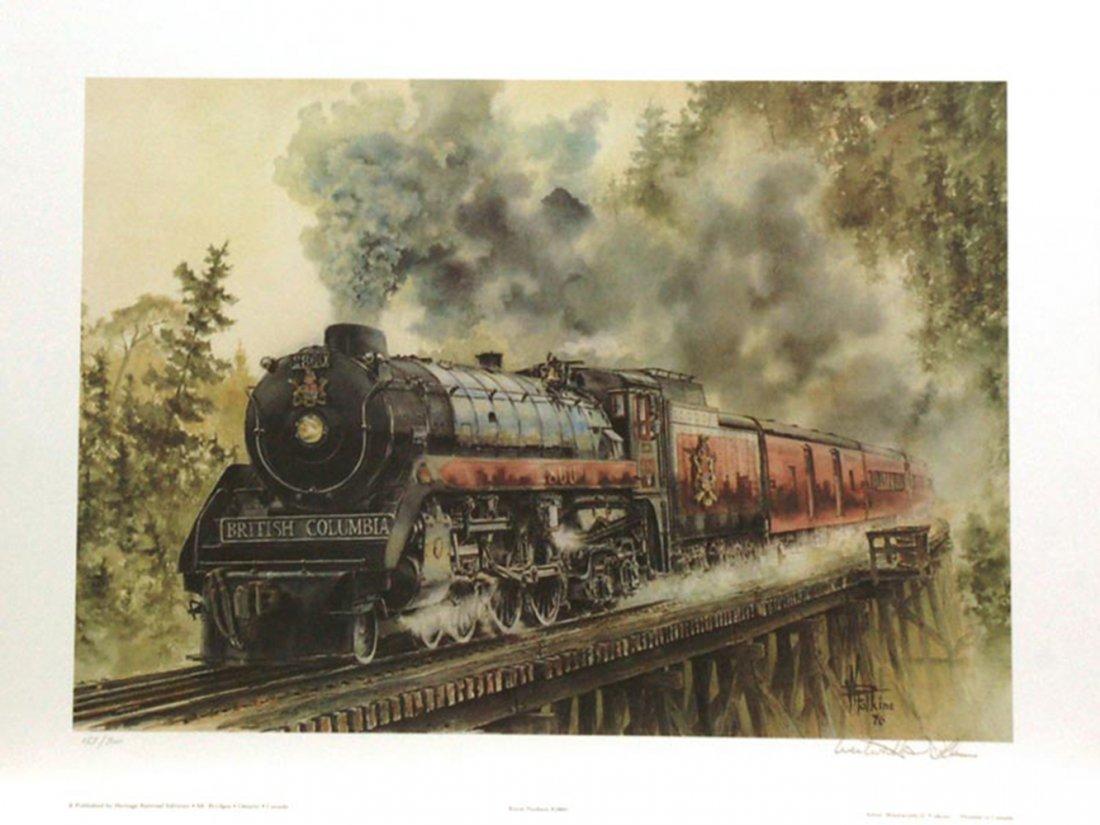 "Wentworth Folkins' ""Royal Hudson"" Limited Edition Print"