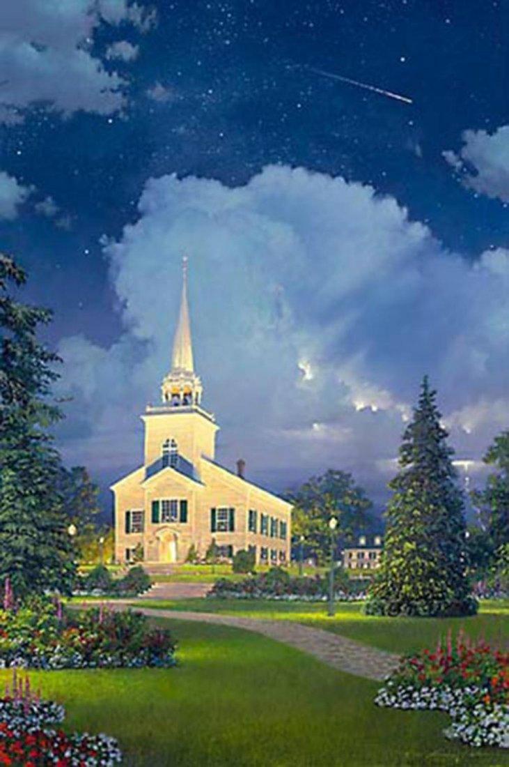 "William S Phillips' ""The Heavens Proclaim His Glory"" Li"