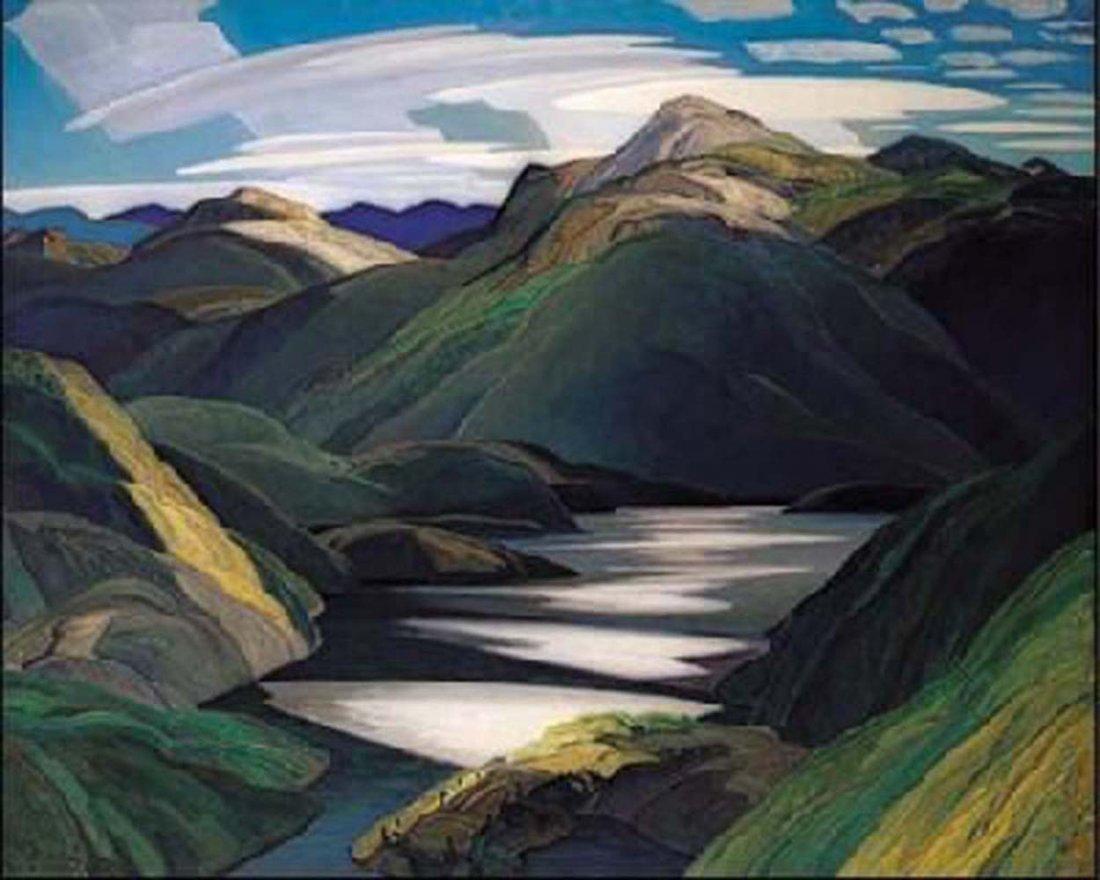 """Franklin Carmichael's """"Light and Shadows"""" Giclee Canvas"""