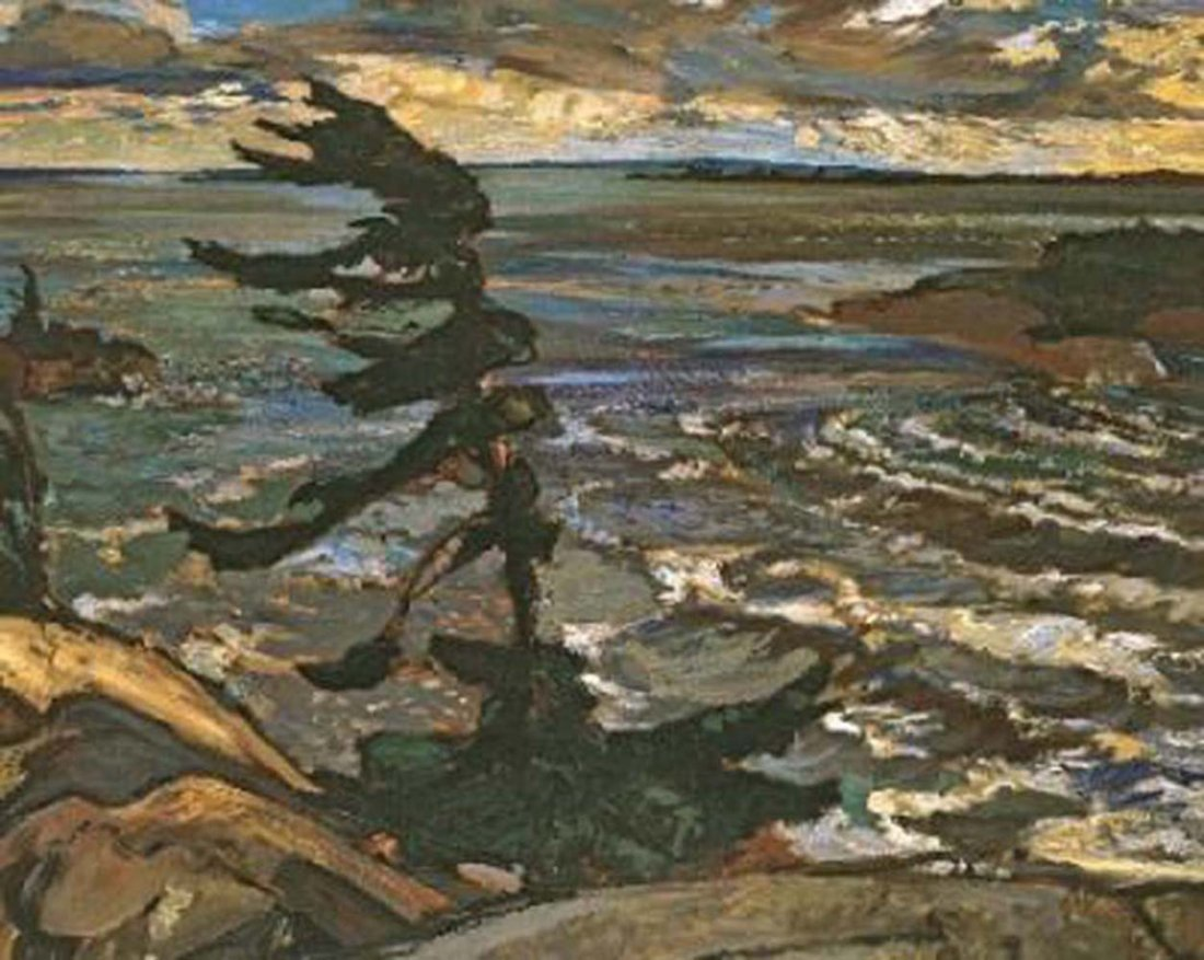 """Fred Varley's """"Stormy Weather"""" Giclee Canvas"""
