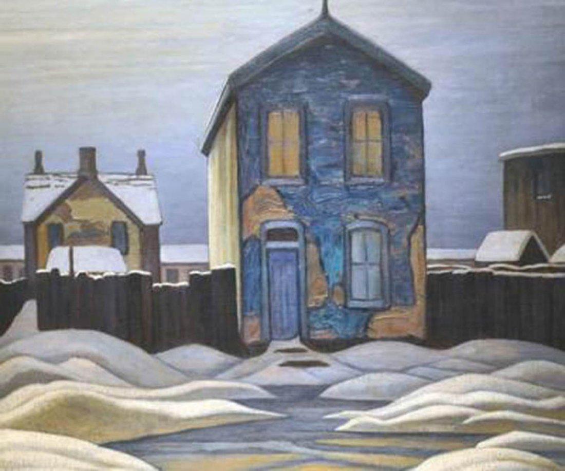 "Lawren Harris's ""Grey Day"" Giclee Canvas"