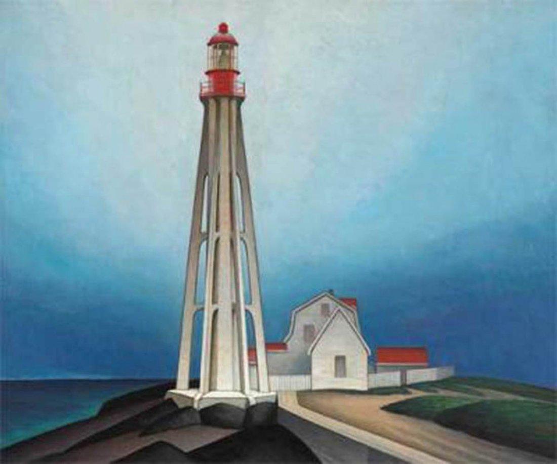 "Lawren Harris's ""Maligne Lake, Jasper"" Giclee Canvas"