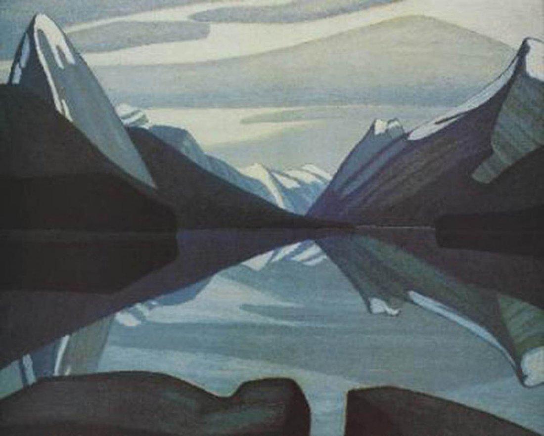 "Lawren Harris's ""Mount LeFroy"" Giclee Canvas"