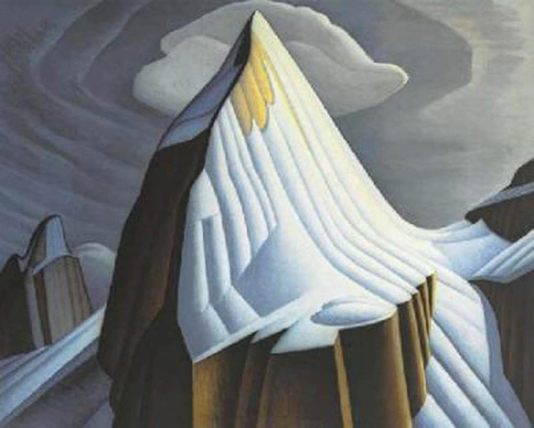"Lawren Harris's ""The Lite House"" Giclee Canvas"