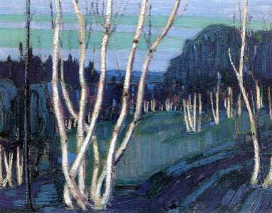 "Tom Thomson's ""Silver Birches"" Giclee Canvas"