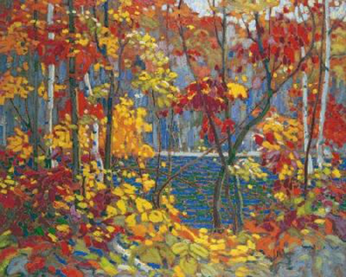 """Tom Thomson's """"The Pool"""" Giclee Canvas"""