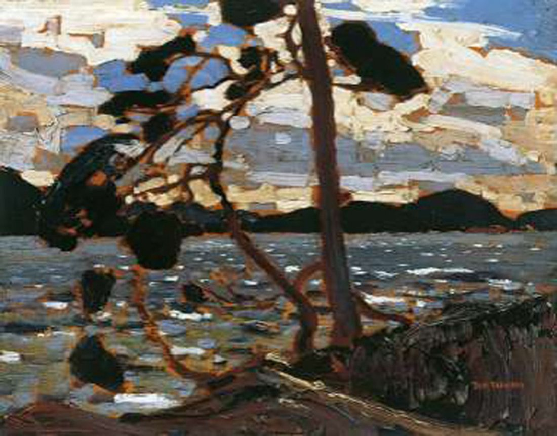 "Tom Thomson's ""West Wind"" Giclee Canvas Reproduction"