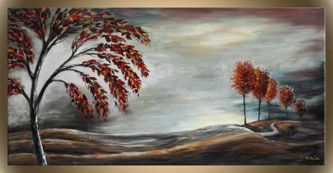 "Victor Zag's ""Change of Seasons"" Giclee Canvas"