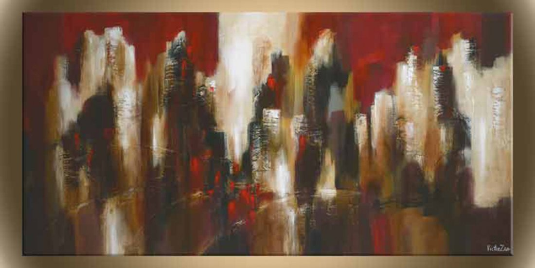 """Victor Zag's """"Out of the Fire"""" Giclee Canvas Reproducti"""