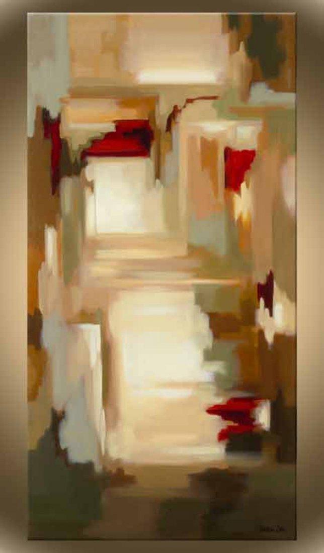 "Victor Zag's ""Splash Dance I"" Giclee Canvas"