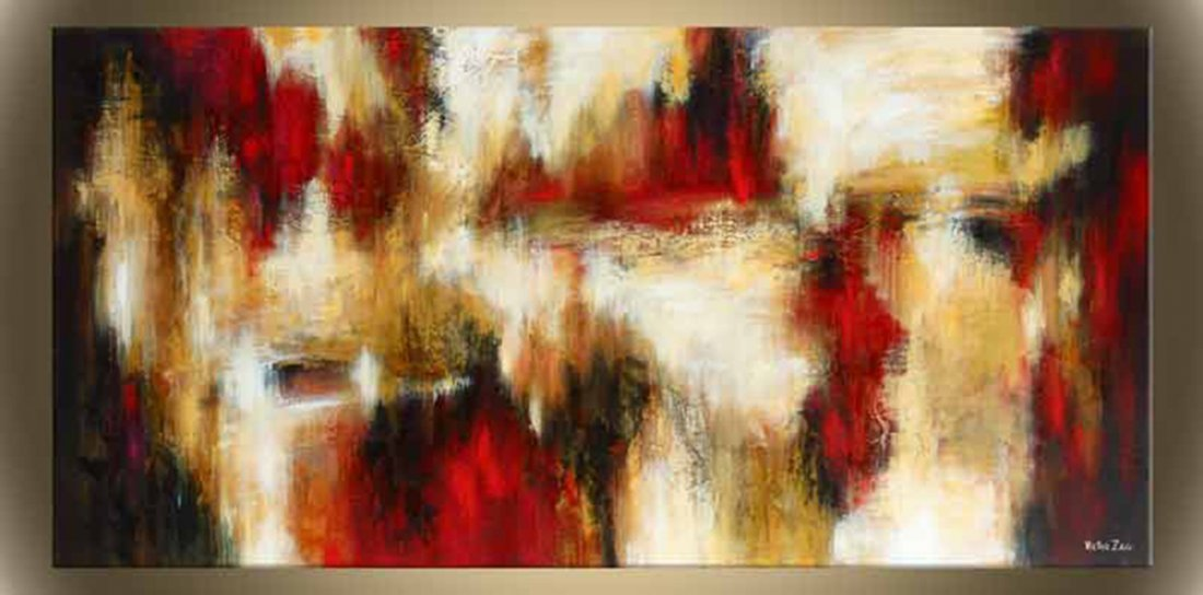 """Victor Zag's """"The Inferno"""" Giclee Canvas Reproduction"""