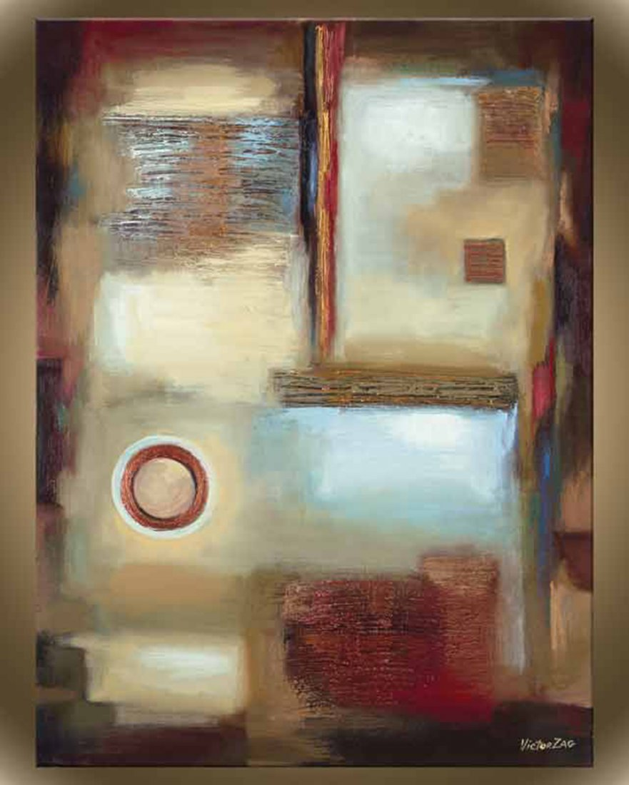 "Victor Zag's ""Window Pane II"" Giclee Canvas Reproductio"