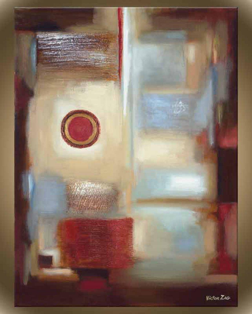 "Victor Zag's ""Window Pane III"" Giclee Canvas Reproducti"