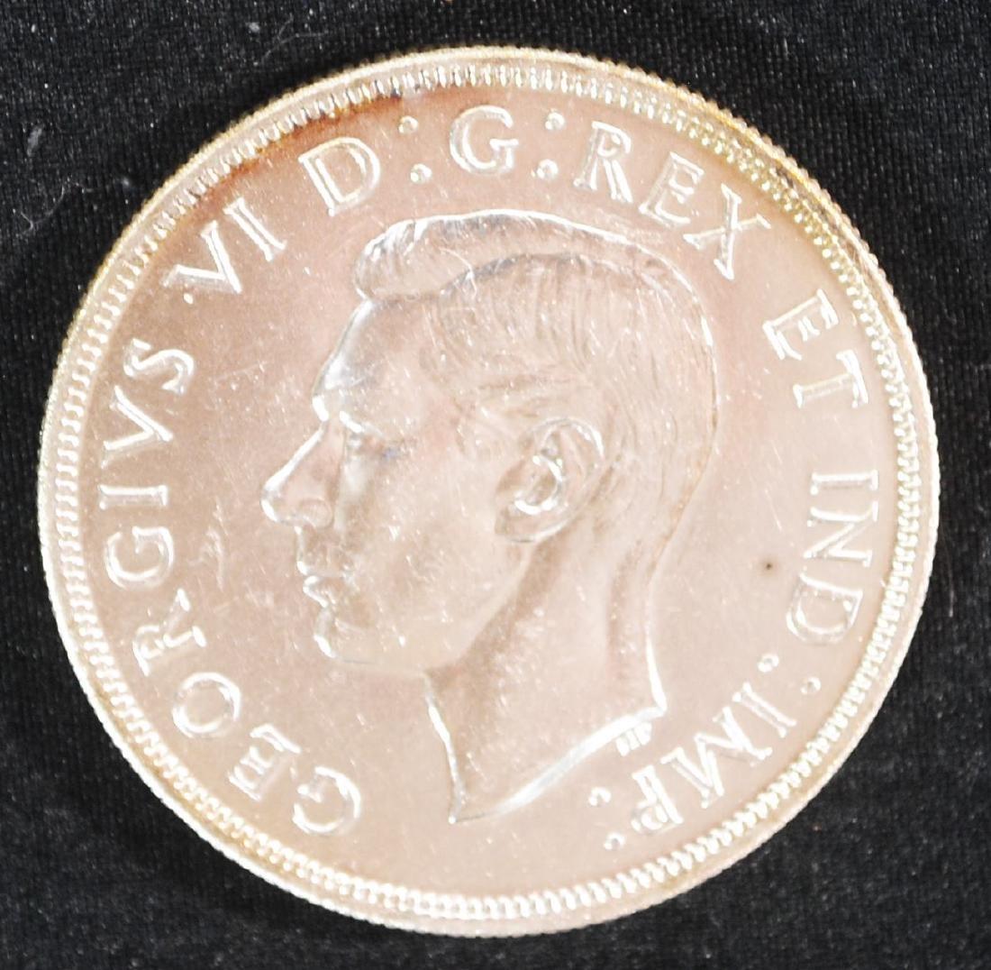 Canada 1947 Maple Leaf Silver Dollar - Key date