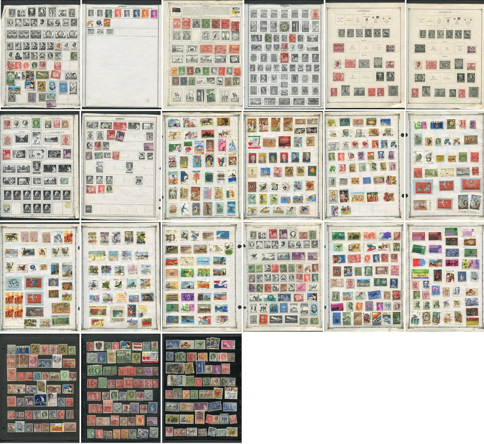 Australia Stamp Collection 2