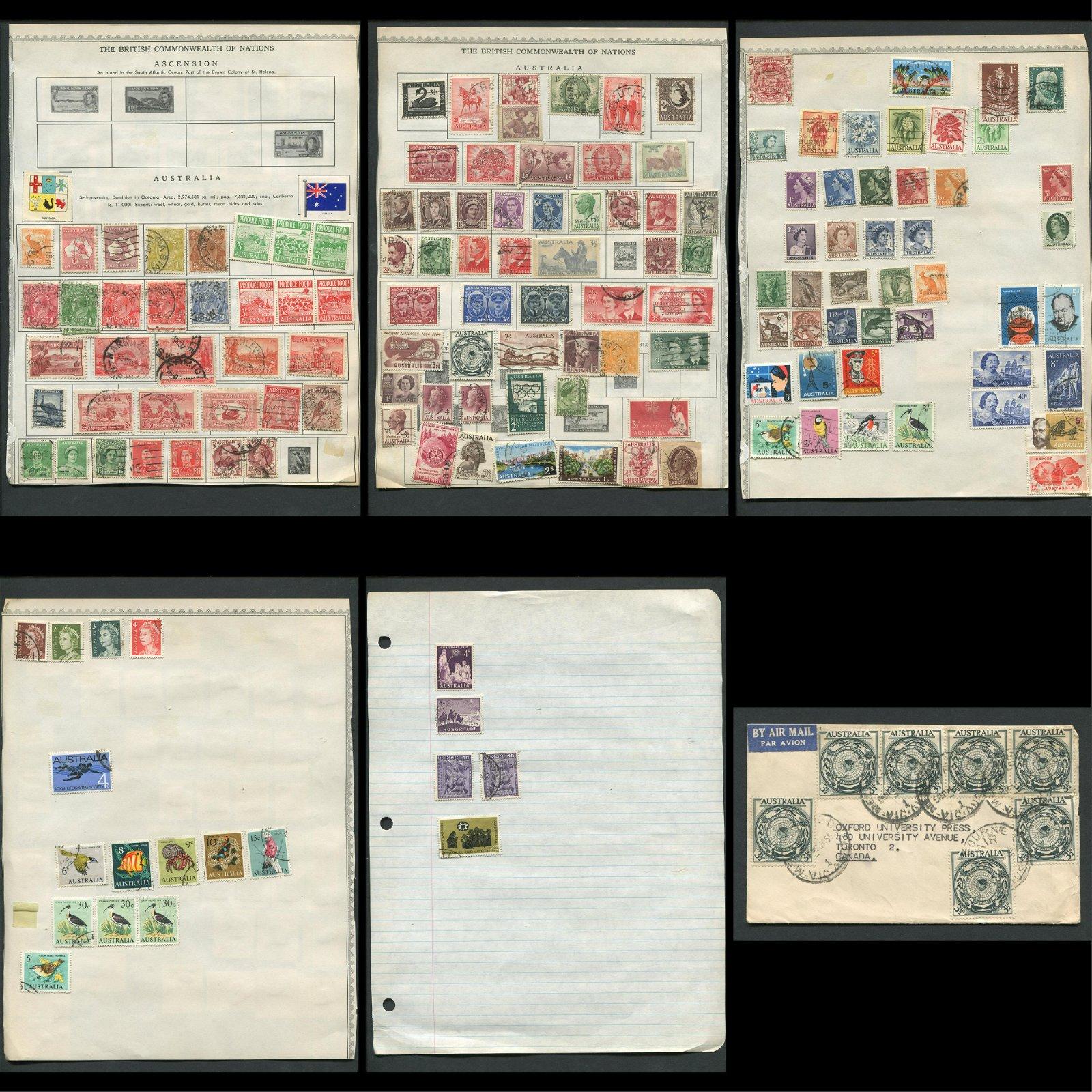 Australia Stamp Collection 7