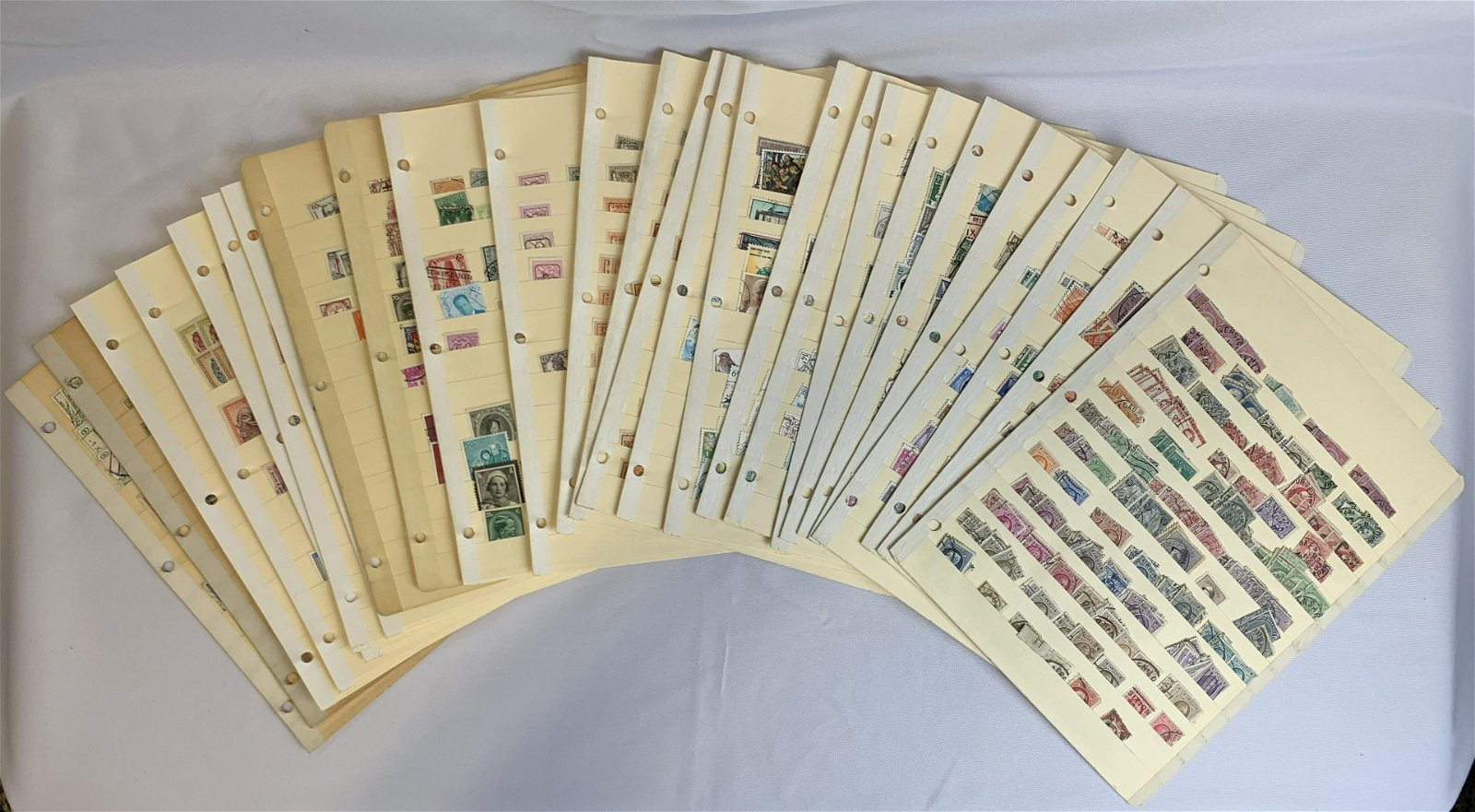 Belgium Dealer's Stamp Stock Book